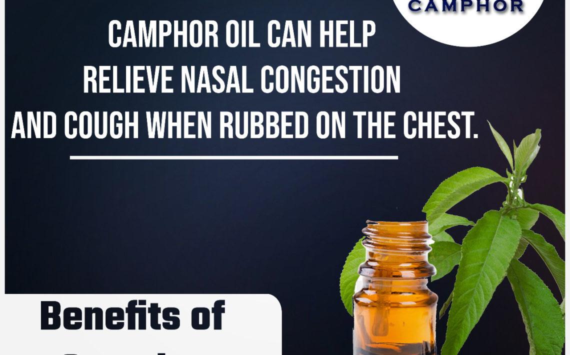 benefits of camphor